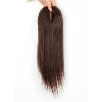 米蘭精品 假髮片真髮絲-30cm及肩長直髮補髮片女假髮母親節禮物2色73us30