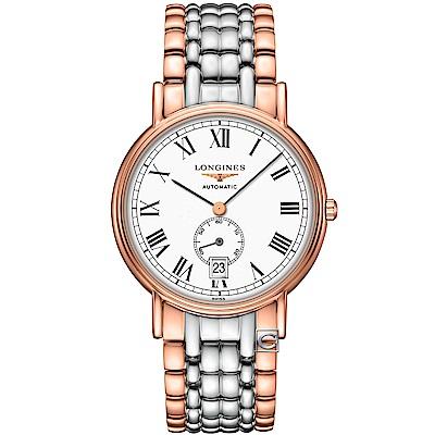 LONGINES 浪琴 Presence 經典小秒針紳士機械錶(L48051117)