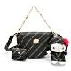 Hello Kitty聯名- 半月包附長短背帶 Trendy Master系列-黑色 product thumbnail 1