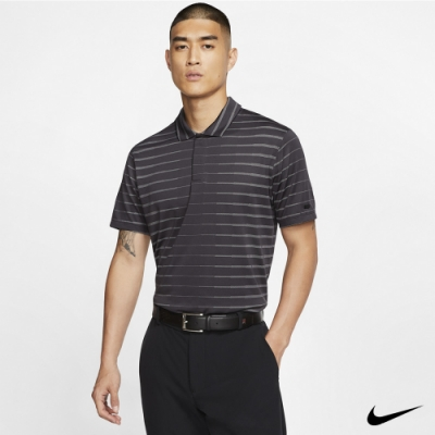 Nike Tiger Woods 男 條紋Polo衫 黑 BV0351-010