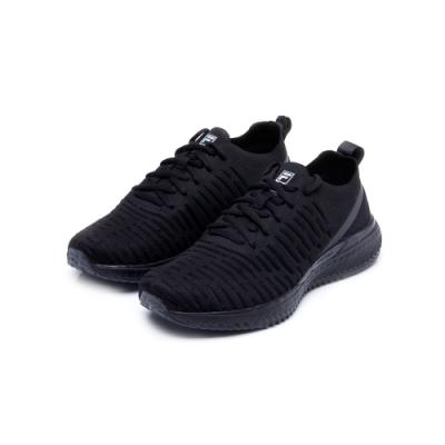 FILA RGB FLOW 中性慢跑鞋-黑 4-J038U-001