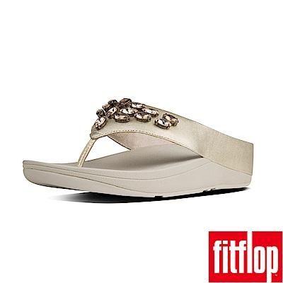 FitFlop TIARARAMA夾腳涼鞋金色