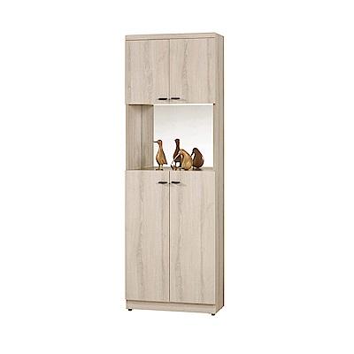 H&D 鏡面2尺玄關鞋櫃