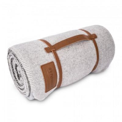Petromax 100% 純羊毛毯 白/深灰 Wool Blanket 150 x 200 cm 861-DE-271-150