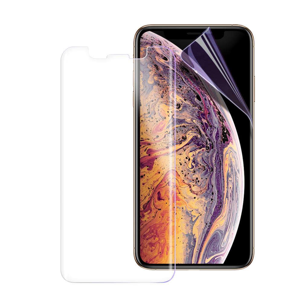 o-one大螢膜PRO iPhone Xs Max 全膠滿版保護貼-透明/霧面