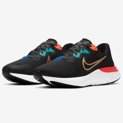 NIKE 慢跑鞋 運動鞋 緩震 男鞋 黑 DJ0033-061 Renew Run 2