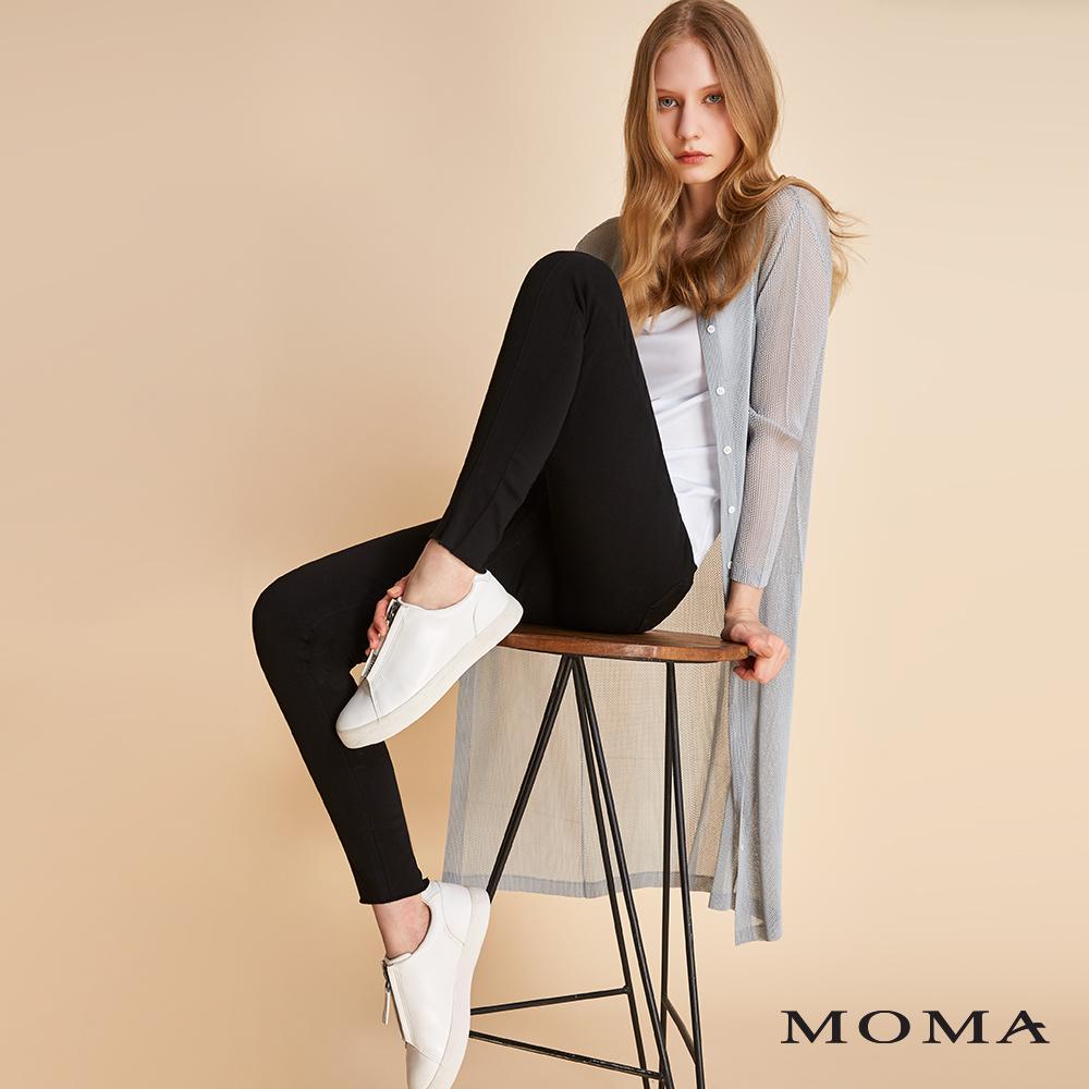 MOMA 網眼壓褶針織外套