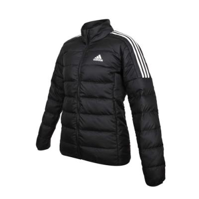 ADIDAS 女羽絨外套-亞規 立領外套 保暖 愛迪達 GH4593 黑白