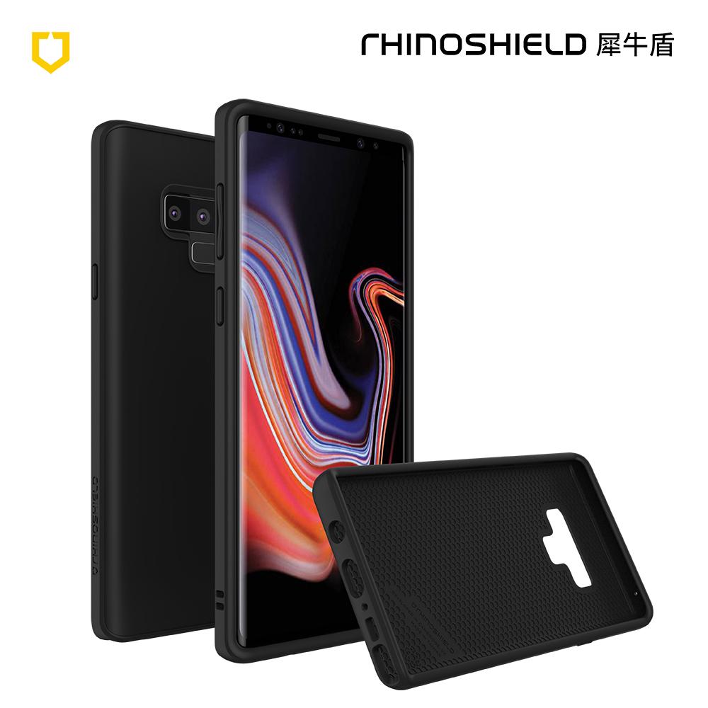 犀牛盾 Samsung Note 9 Solidsuit經典防摔背蓋手機殼-黑色