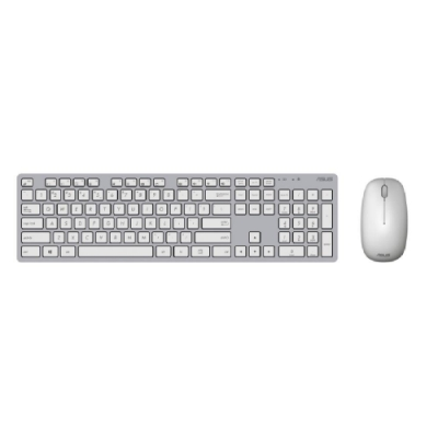 (銀白色) ASUS W5000 KEYBOARD & MOUSE 無線鍵盤