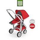 荷蘭 Greentom Reversible雙向款嬰兒推車(叛逆灰+前衛紅)