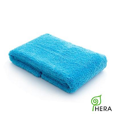 買一送一 HERA 3M專利瞬吸快乾抗菌超柔纖大浴巾皇家藍OP組