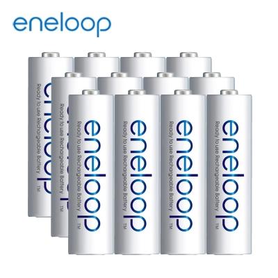 日本Panasonic國際牌eneloop低自放電充電電池組(內附3號12入)