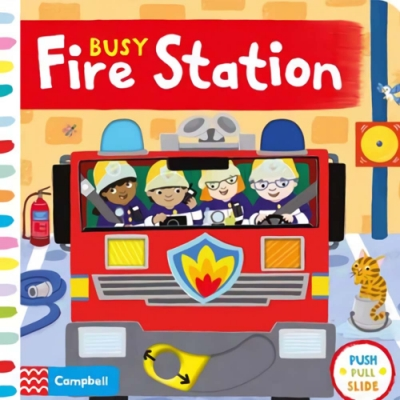 Busy Fire Station 忙碌的消防局操作書