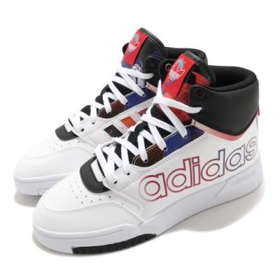 adidas 休閒鞋 Drop Step XL 高筒 女鞋 愛迪達 三葉草 中國新年 CNY 穿搭 白 黑 Q47202
