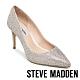 STEVE MADDEN-LILLIE 奢華素面尖頭高跟鞋-銀色 product thumbnail 1