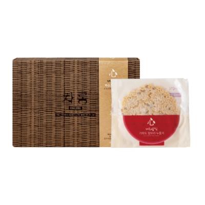 韓國【Jeju Mami】濟州媽咪 濟州之心鍋巴餅-青麥禮盒
