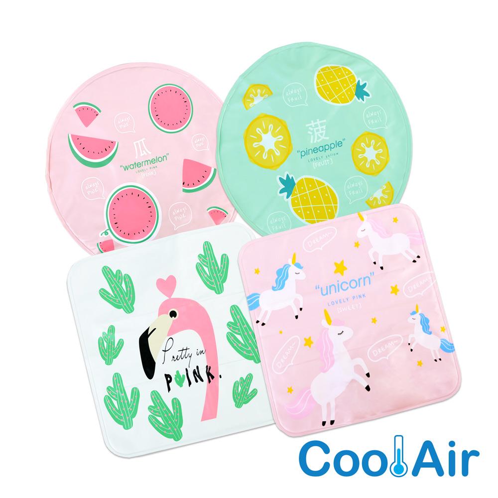 CoolAir 涼感降溫冰涼墊/坐墊 (2入組)