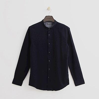 Hang Ten - 男裝 - 個性休閒襯衫- 藍