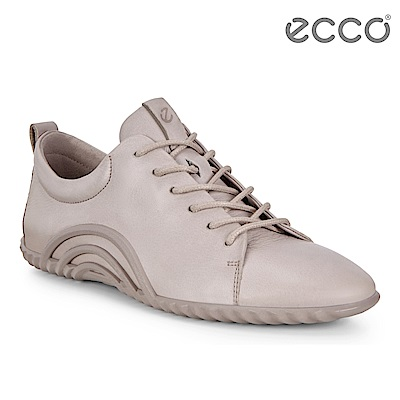 ECCO VIBRATION 1.0 活力輕巧運動休閒鞋 女-霧灰粉