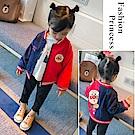 小衣衫童裝   中小童雙面穿秋冬款可愛麵包小超人外套1071008