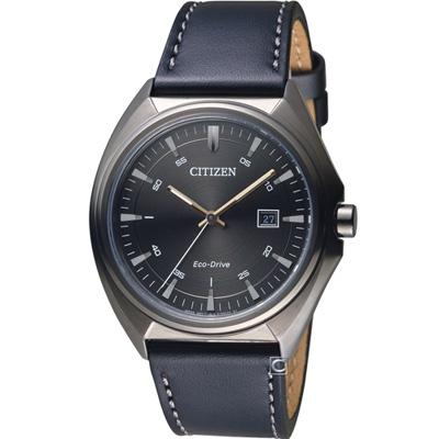 CITIZEN Eco-Drive 光速軌道時尚腕錶(AW1577-11H)