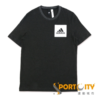 ADIDAS ESS CHEST LOGO 男短袖T恤 黑 BS4861