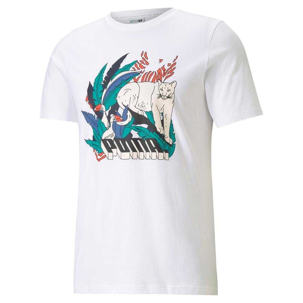【PUMA官方旗艦】流行系列Classics印花短袖T恤 男性 59982157