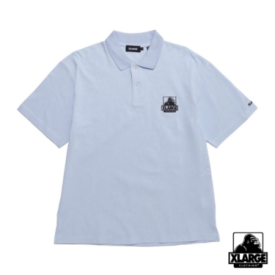 XLARGE EMBROIDERY OG POLO SHIRT 經典LOGO短袖POLO衫-藍