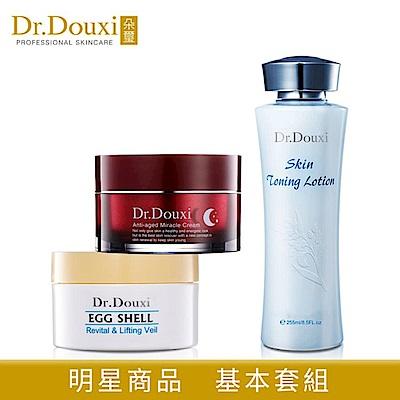 Dr.Douxi朵璽 卵殼膜100g+健康水255ml+熬夜霜50ml