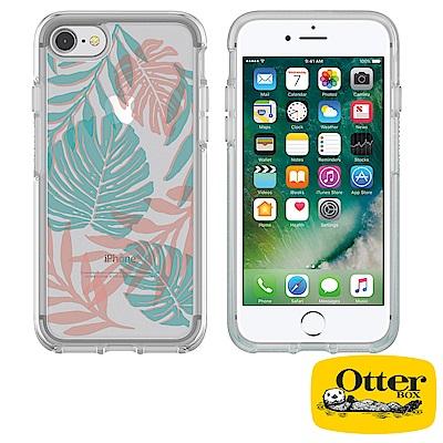 OtterBox iPhone7 / iPhone8炫彩幾何透明保護殼-度假叢林