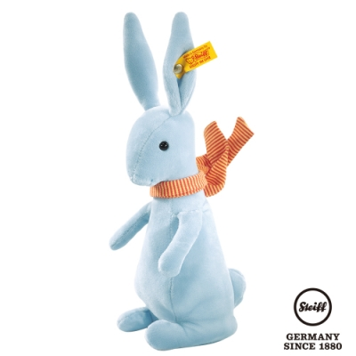 STEIFF德國金耳釦泰迪熊  Blue Crazy Rabbit    藍色(瘋狂兔系列)