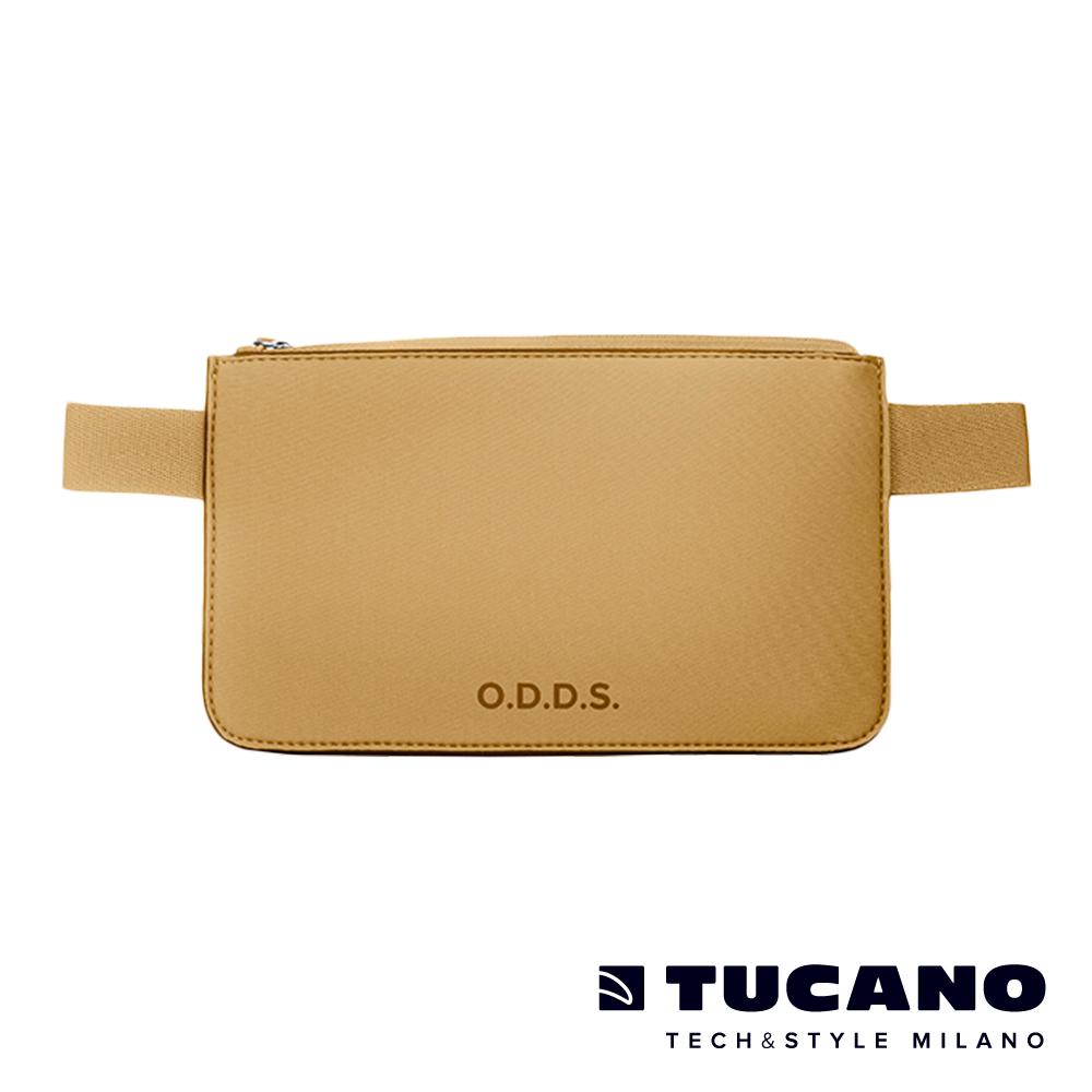 TUCANO X O.D.D.S. 潛水布防水防盜拉鍊式腰包-杏