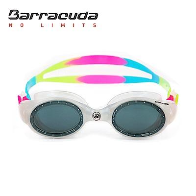 巴洛酷達 兒童競技型抗UV防霧泳鏡 Barracuda UVIOLET #33620