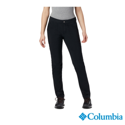 Columbia 哥倫比亞 女款- Omni-Shade 防曬50防潑內刷毛長褲-黑色 UAR12910BK