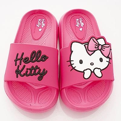 HelloKitty童鞋 輕量拖鞋款 EI18192桃(中小童段)