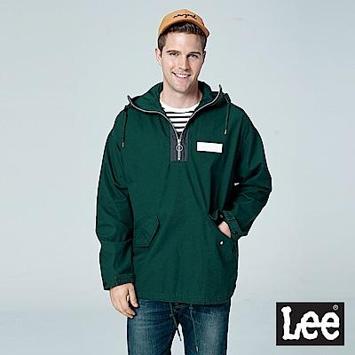 Lee 套頭連帽防風外套/RG-深綠色