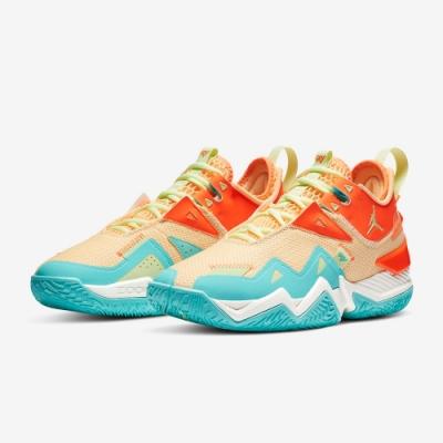 NIKE 籃球鞋 喬丹 包覆 緩震 運動鞋 男鞋  綠橘 CJ0781800 JORDAN WESTBROOK ONE TAKE PF