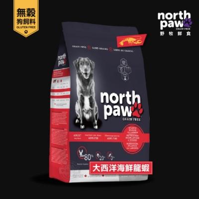 [送贈品] north paw 野牧鮮食 無穀狗飼料 11.4KG 大西洋海鮮龍鮮 真空 狗糧