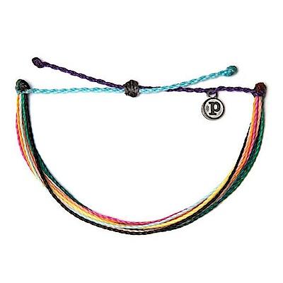 Pura Vida 美國手工 Anklets多圈 素面 臘繩 手鍊腳鍊兩用 九色的祝福