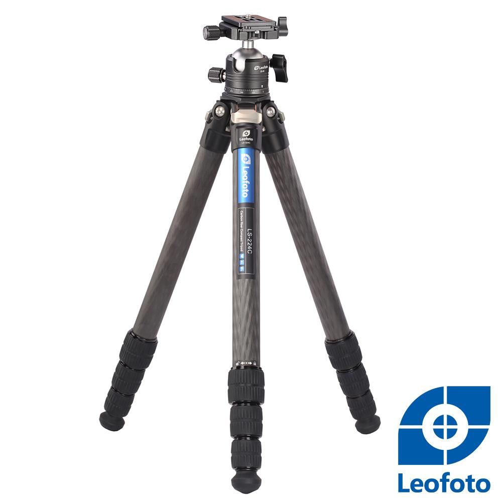 Leofoto徠圖 碳纖維三腳架[含雲台]LS224C+EB36
