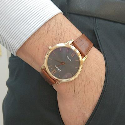 CITIZEN 低斂風尚光動能超薄腕錶(AR1133-15H)