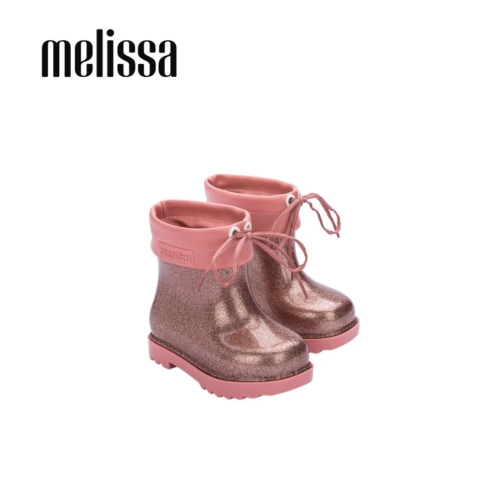 Melissa 低筒雨靴 寶寶款-粉