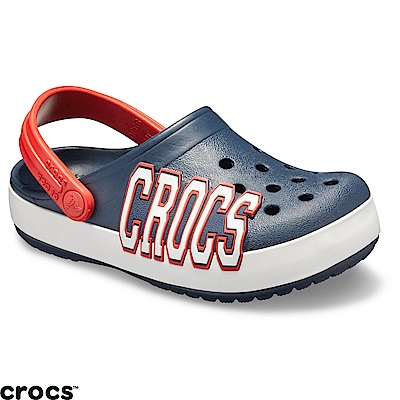 Crocs卡駱馳(童鞋)logo小卡駱班205533-410