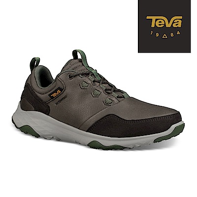 TEVA 美國-男 Arrowood 2 Low WP 低筒防潑水休閒鞋 橄欖綠