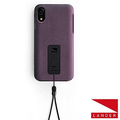 美國 Lander iPhone XR Moab 防摔手機保護殼 - 紫(附手繩)