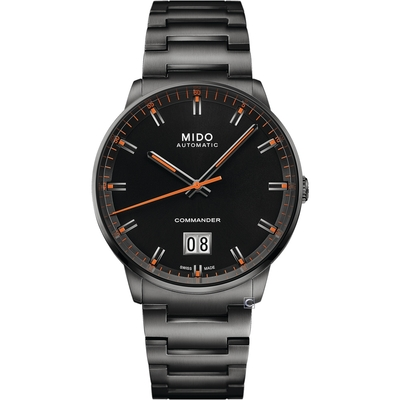 MIDO 美度 COMMANDER 香榭系列大日期機械錶-M0216263305100/42mm
