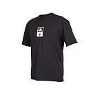 ADIDAS 男 短袖T恤 黑白