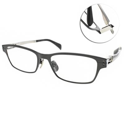 JAPONISM  光學眼鏡 經典休閒方框款/深綠-槍 #JP032 C03