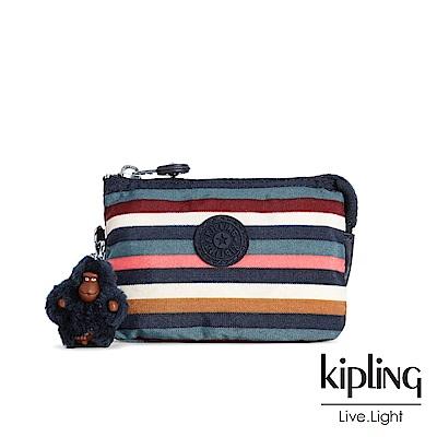 KIPLING繽紛仲夏條紋零錢包(小)